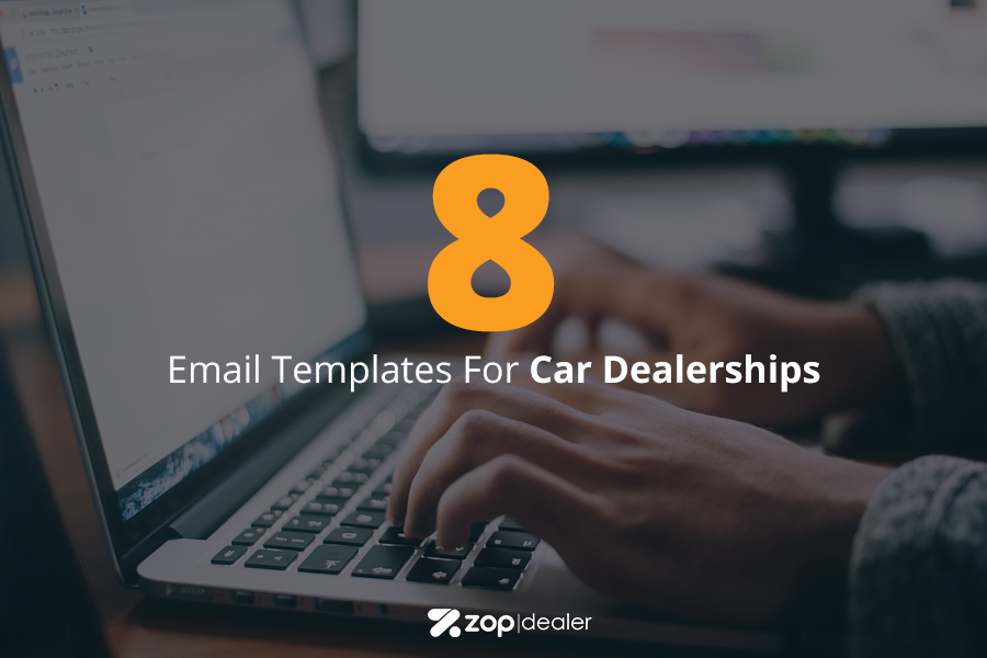 8 Email Templates For Car Dealerships