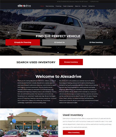 Car Dealer Websites Auto